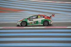 WTCC Frankreich 2014 Lizenzfreies Stockbild