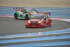 WTCC 2014 Frankrijk Stock Afbeelding