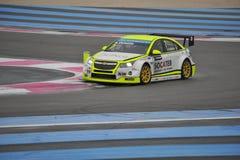 WTCC Frankrike 2014 Arkivbild