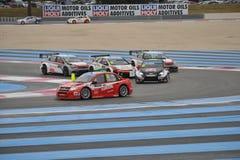 WTCC Frankrike 2014 Royaltyfri Fotografi