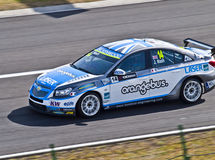 WTCC James Nash Photos libres de droits