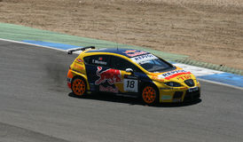 WTCC-Tiago Monteiro-winner Royalty Free Stock Photo