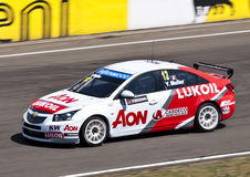 WTCC Yvan Muller Royalty Free Stock Photo
