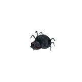 Wtercolor cartoon spider Stock Photo