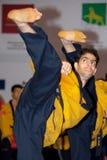 wtf мира taekwondo poomsae чемпионата Стоковые Изображения RF