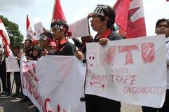 WTO da recusa fotos de stock