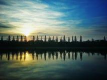 Wtorku wschód słońca Obrazy Royalty Free