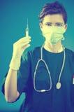 wtryskowy student medycyny Zdjęcie Royalty Free