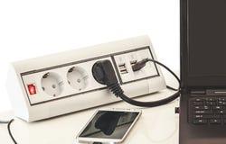 wtyczki elektryczne obrazy stock