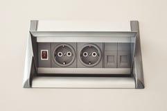 wtyczki elektryczne zdjęcia stock