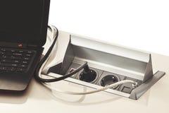 wtyczki elektryczne fotografia stock