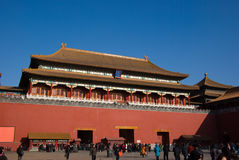 Wu men gate Stock Photography