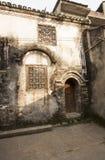 Wu sheng temple exterior xingping guangxi Royalty Free Stock Photo