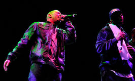 Wu-Tang Clan, American East Coast hip hop group, performs at Heineken Primavera Sound 2013 Royalty Free Stock Images