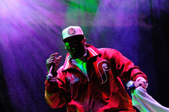 Wu-Tang Clan, American East Coast hip hop group, performs at Heineken Primavera Sound 2013 Festival Royalty Free Stock Images
