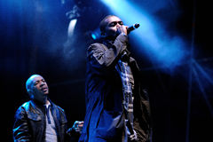 Wu-Tang Clan, American East Coast hip hop group, performs at Heineken Primavera Sound 2013 Festival Stock Image