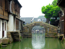 Wu zhen bridge Royalty Free Stock Photos