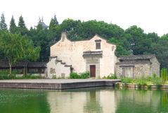 Wu zhen buildings Royalty Free Stock Image