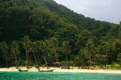 Wua Talab ö, Ang Thong National Marine Park, Thailand Arkivbilder