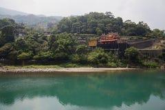 Wualai wioska w Tajwan fotografia royalty free