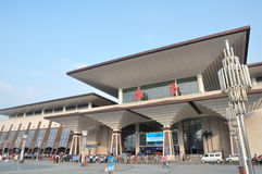 Wuchang railway station Stock Photo