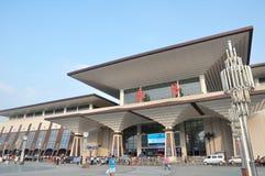 Wuchang railway station Stock Photo