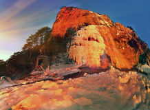 Wuchang-Su - waterfall in Crimea Stock Images