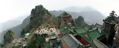 Wudang góry, Wudangshan Obrazy Royalty Free