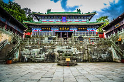 Wudang mountain , a famous Taoist Holy Land in China Royalty Free Stock Photo