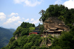 Wudang mountain , a famous Taoist Holy Land in China Stock Photo