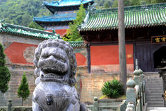 Wudang mountain , a famous Taoist Holy Land in China Stock Images