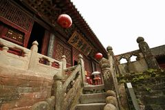 Wudang Mountain. S scenic area is located in the northwest of Hubei province in China. In Danjiangkou City, it is one of the national scenic spots in China Stock Image