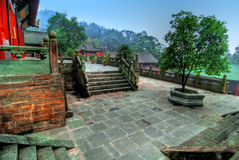 Wudang Shan Temple in China Royalty Free Stock Photography