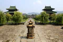 Гора Wudang, известная Святая Земля Taoist в Китае Стоковое Фото