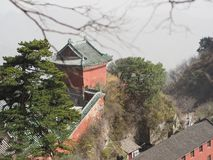 Wudang Temple and Wudang Mountaing. The Origin of Chinese Taoist Stock Photography