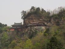 Wudangtempel en Wudang Mountaing De Oorsprong van Chinese Taoist royalty-vrije stock foto's