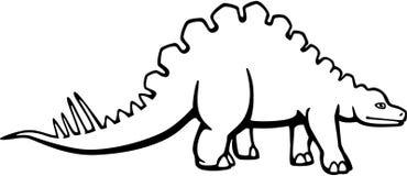 Wuerhosaurus иллюстрация вектора