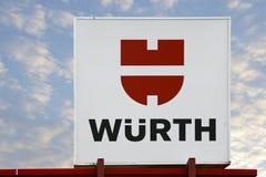 Wuerth商标 库存图片