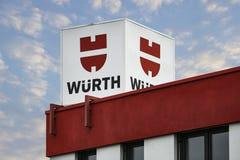 Wuerth商标 免版税库存图片