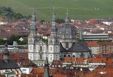Wuerzburg Royalty Free Stock Photography