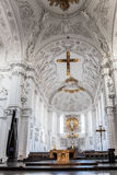 Wuerzburg Cathedral Interior Stock Photo