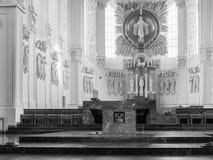 Wuerzburg Cathedral Interior Stock Photos