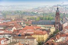 Wuerzburg City Royalty Free Stock Images