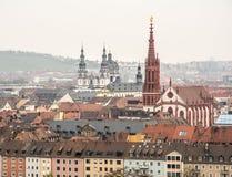 Wuerzburg City Stock Image