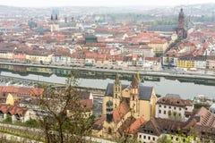 Wuerzburg City Royalty Free Stock Image