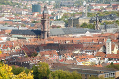 Wuerzburg Cityscape Royalty Free Stock Photo