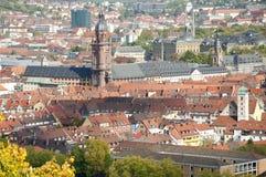 Wuerzburg Cityscape Royalty Free Stock Photo