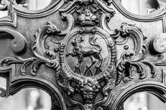 Wuerzburg domkyrkainre royaltyfria foton