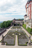 Wuerzburg Fortress Stock Photography