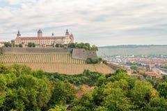 Wuerzburg Fortress Stock Image